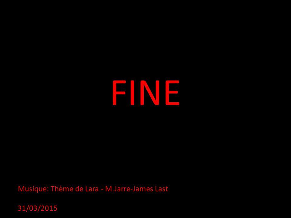 FINE Musique: Thème de Lara - M.Jarre-James Last 09/04/2017