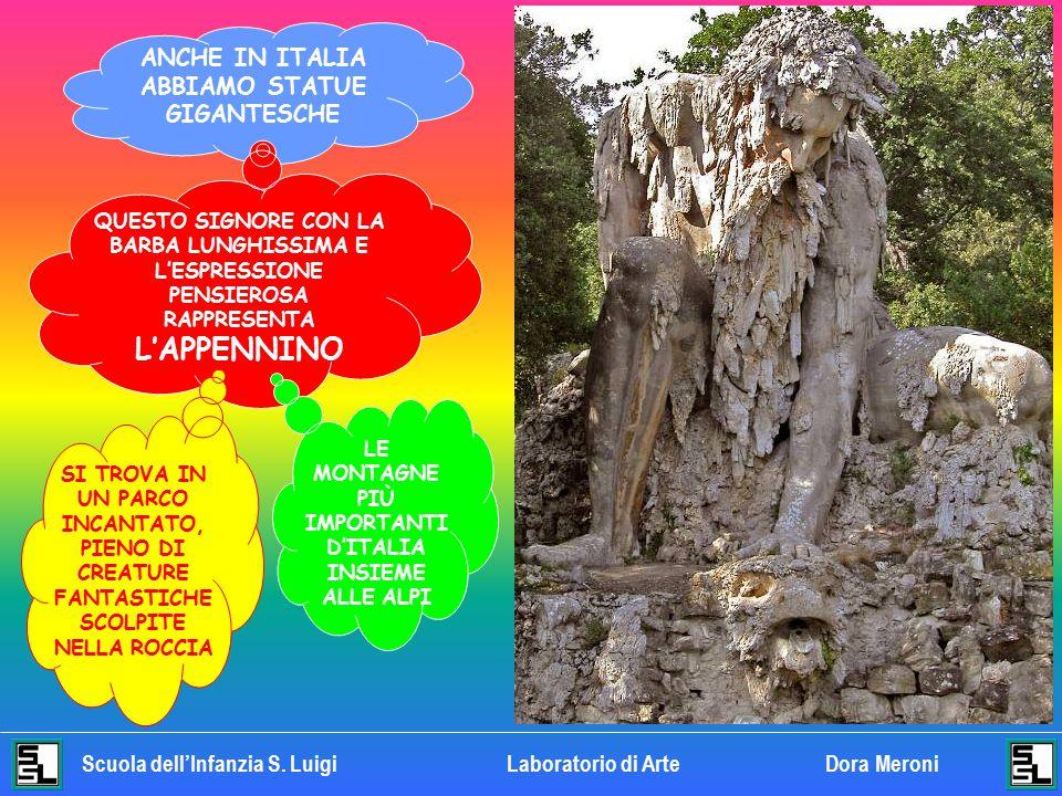 ANCHE IN ITALIA ABBIAMO STATUE GIGANTESCHE