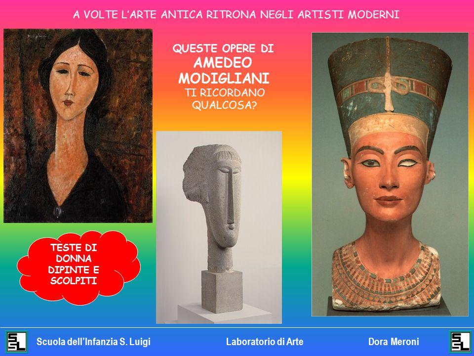 A VOLTE L'ARTE ANTICA RITRONA NEGLI ARTISTI MODERNI
