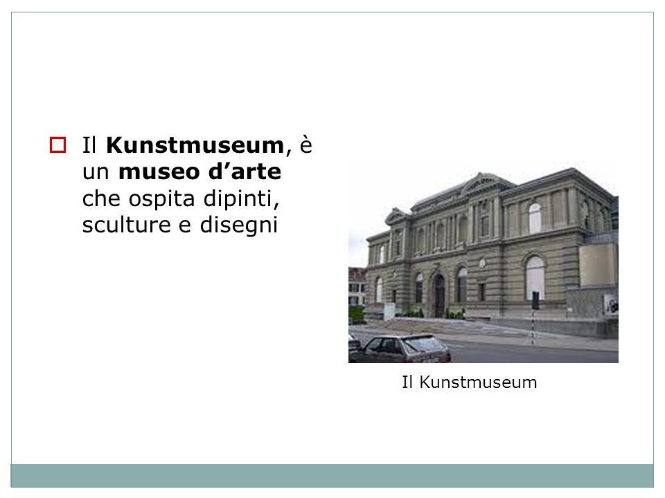 Il Kunstmuseum, è un museo d'arte che ospita dipinti, sculture e disegni