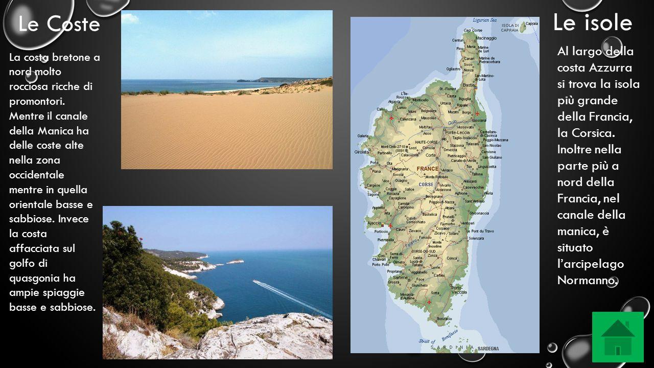 Le isole Le Coste.
