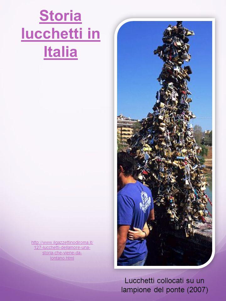 Storia lucchetti in Italia