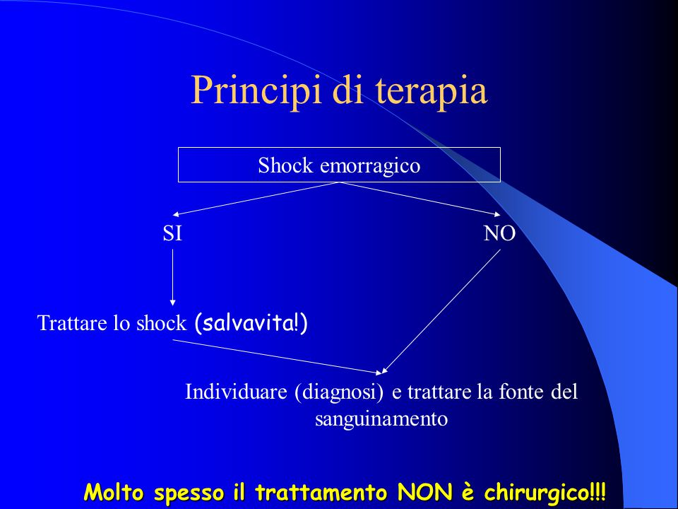 Molto spesso il trattamento NON è chirurgico!!!
