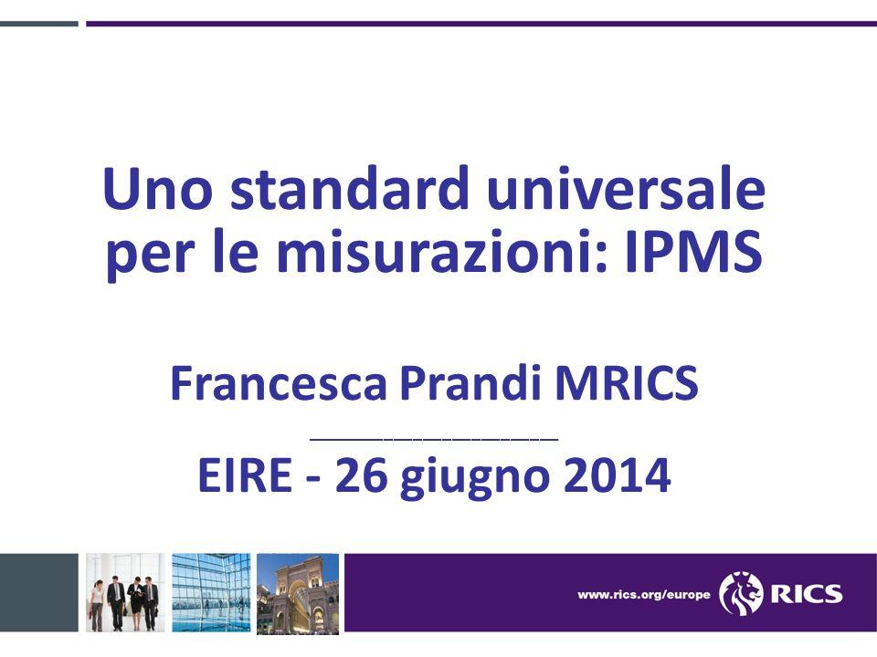 Uno standard universale per le misurazioni: IPMS