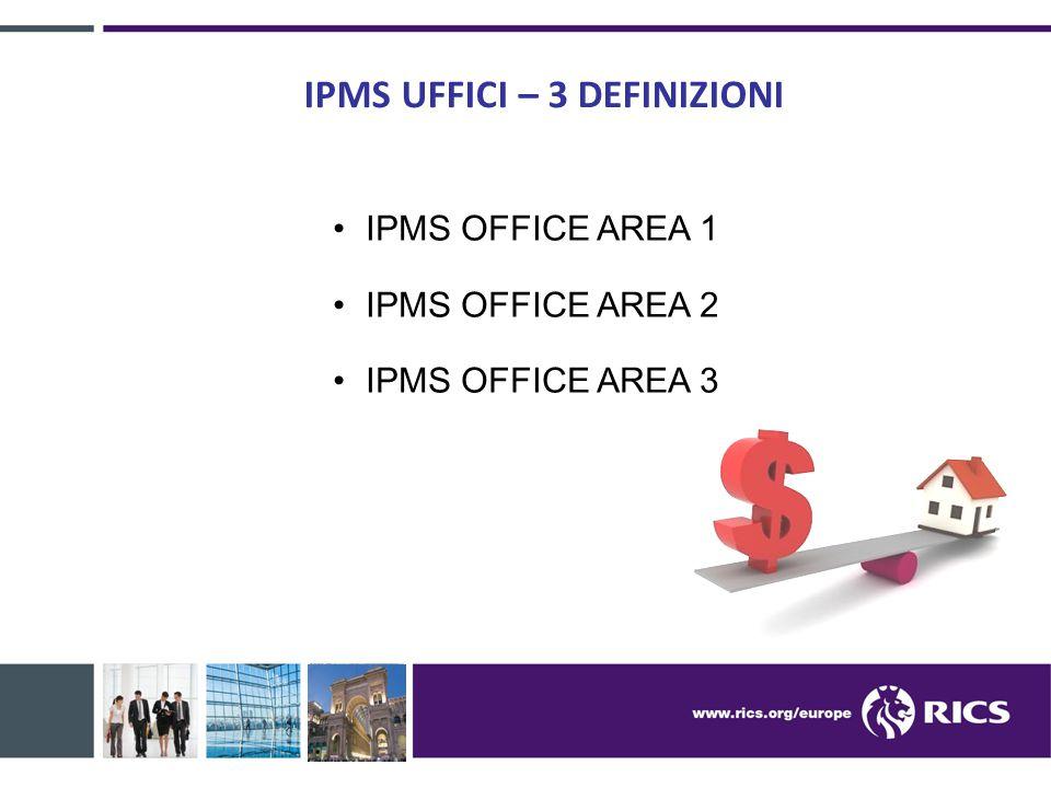 IPMS UFFICI – 3 DEFINIZIONI