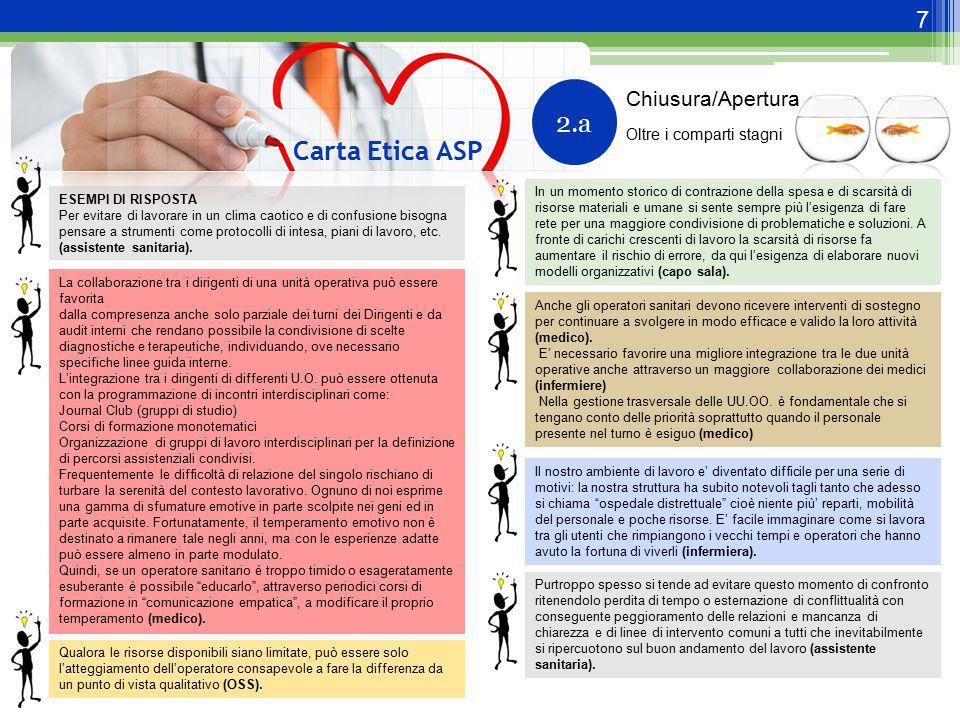 2.a Carta Etica ASP Chiusura/Apertura Oltre i comparti stagni
