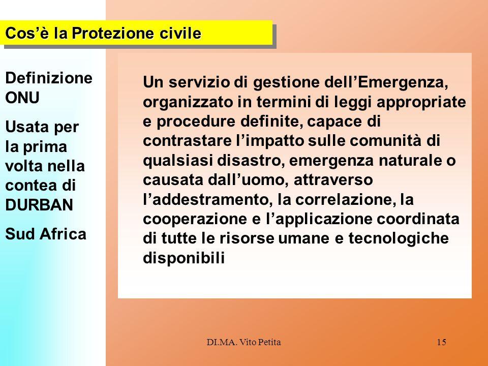 Cos'è la Protezione civile