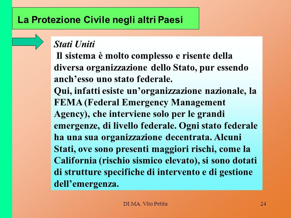 La Protezione Civile negli altri Paesi