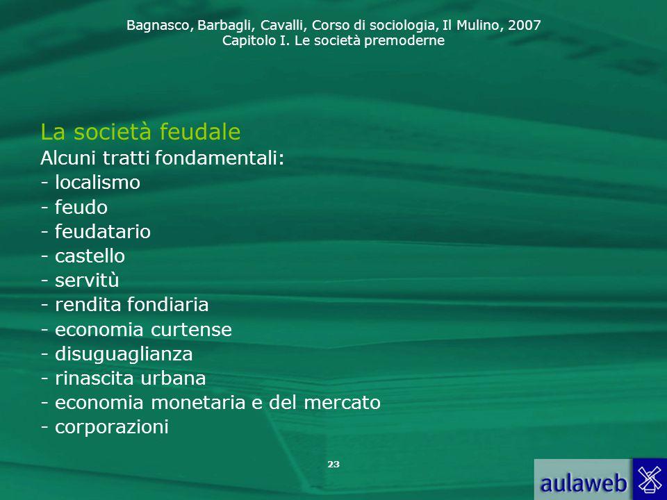 La società feudale Alcuni tratti fondamentali: - localismo - feudo