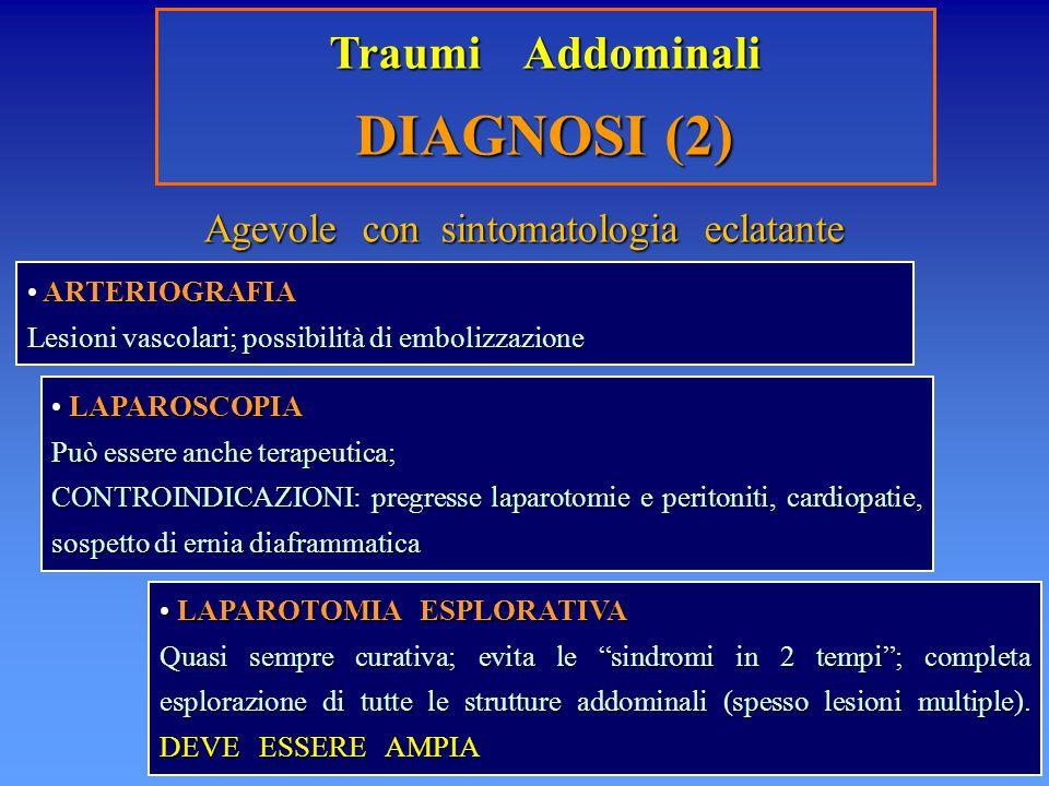 Agevole con sintomatologia eclatante