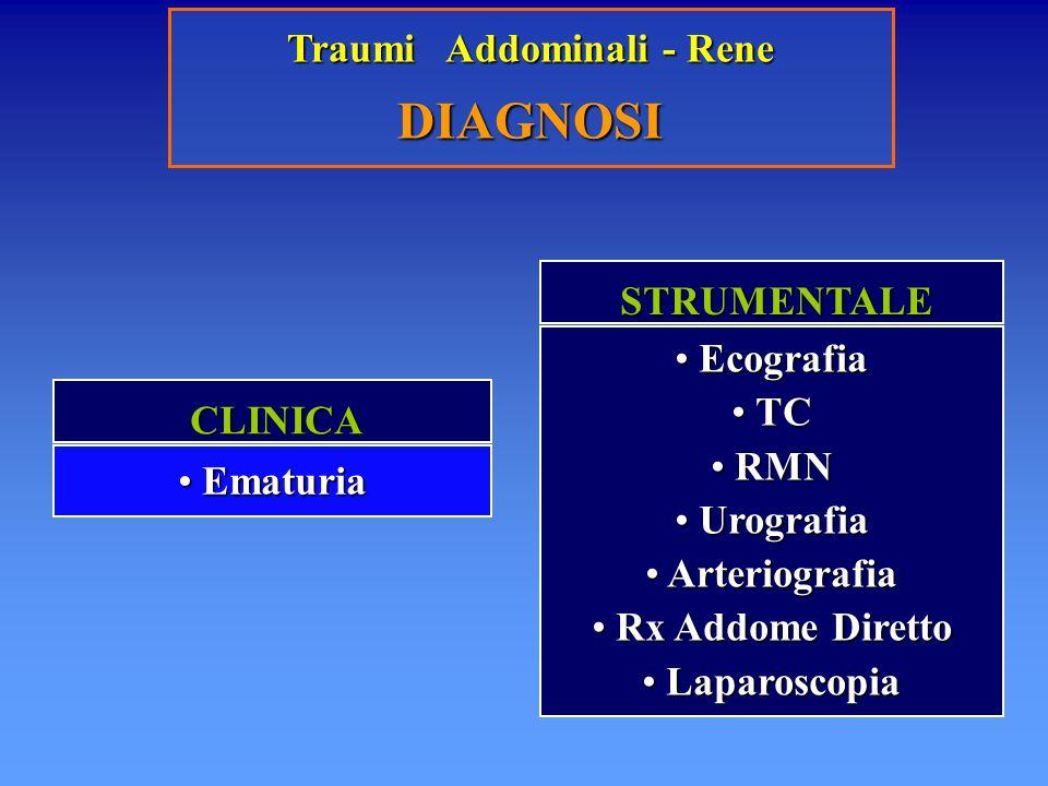Traumi Addominali - Rene