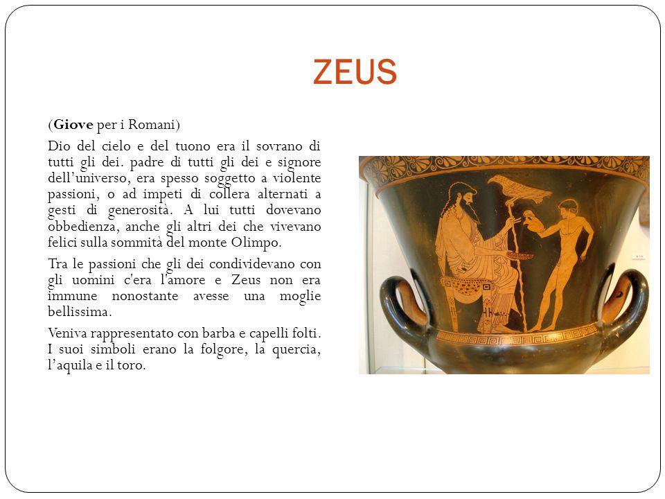 ZEUS (Giove per i Romani)