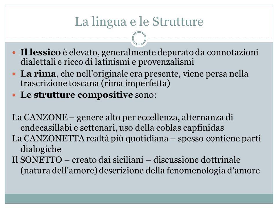 La lingua e le Strutture