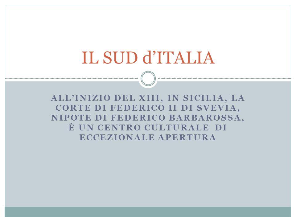 IL SUD d'ITALIA