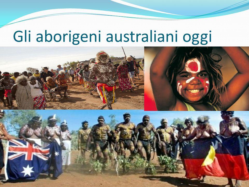 Gli aborigeni australiani oggi