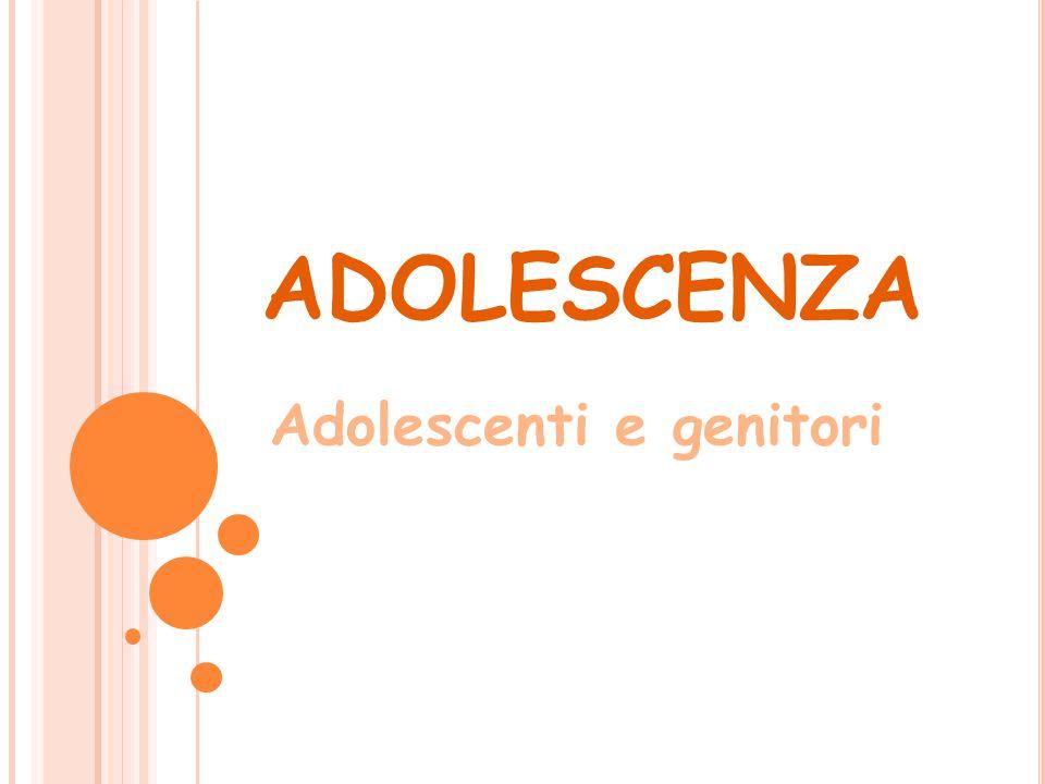 Adolescenti e genitori