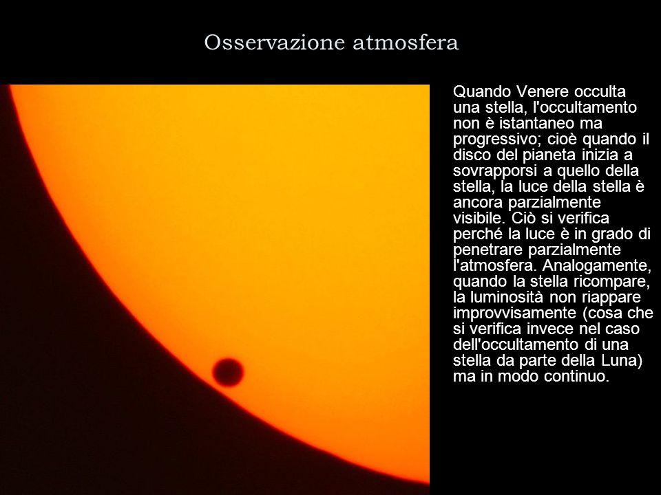Osservazione atmosfera