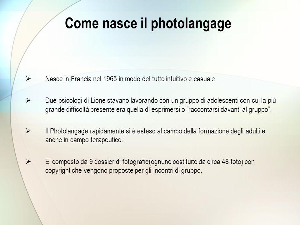 Come nasce il photolangage