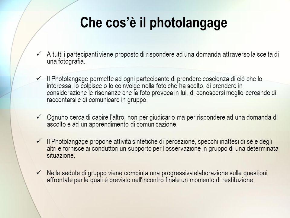 Che cos'è il photolangage