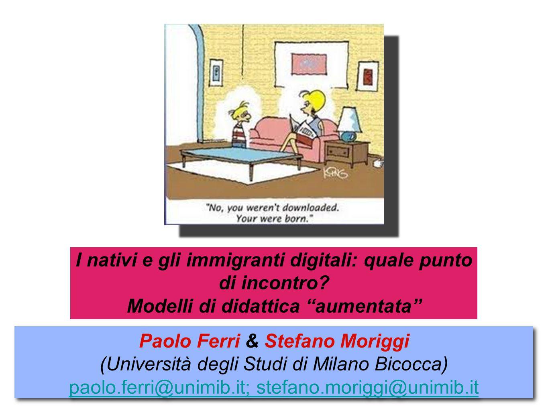 Paolo Ferri & Stefano Moriggi