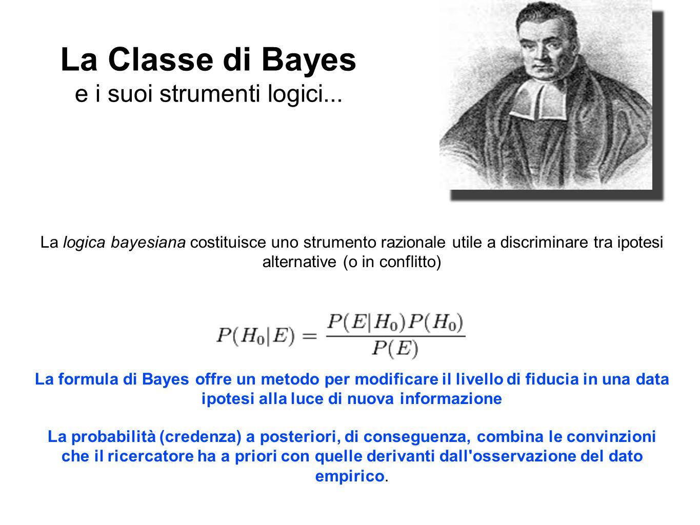 La Classe di Bayes e i suoi strumenti logici...