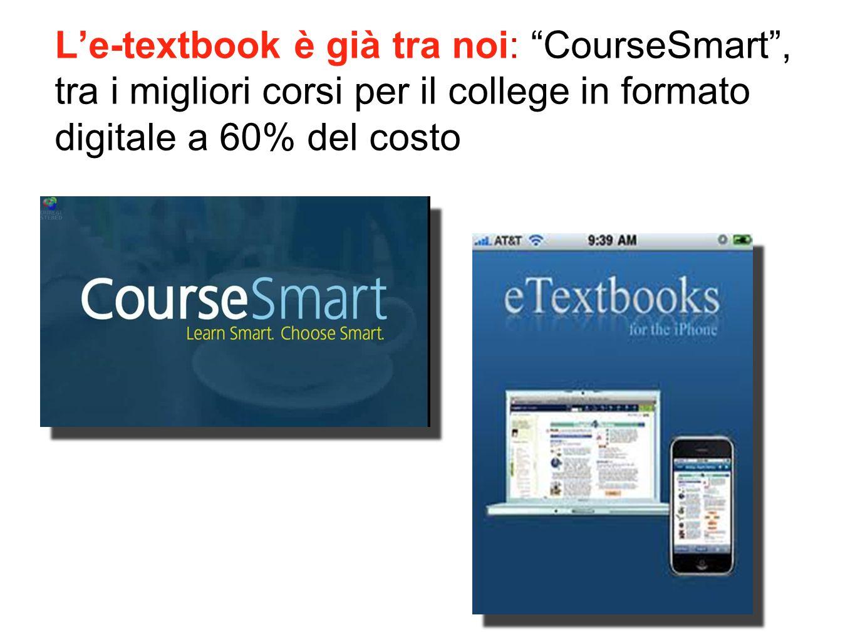 L'e-textbook è già tra noi: CourseSmart , tra i migliori corsi per il college in formato digitale a 60% del costo
