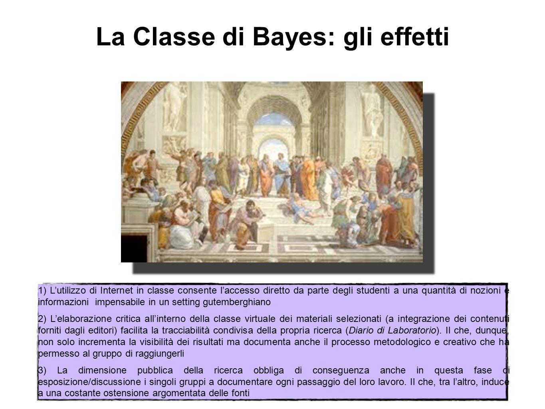 La Classe di Bayes: gli effetti