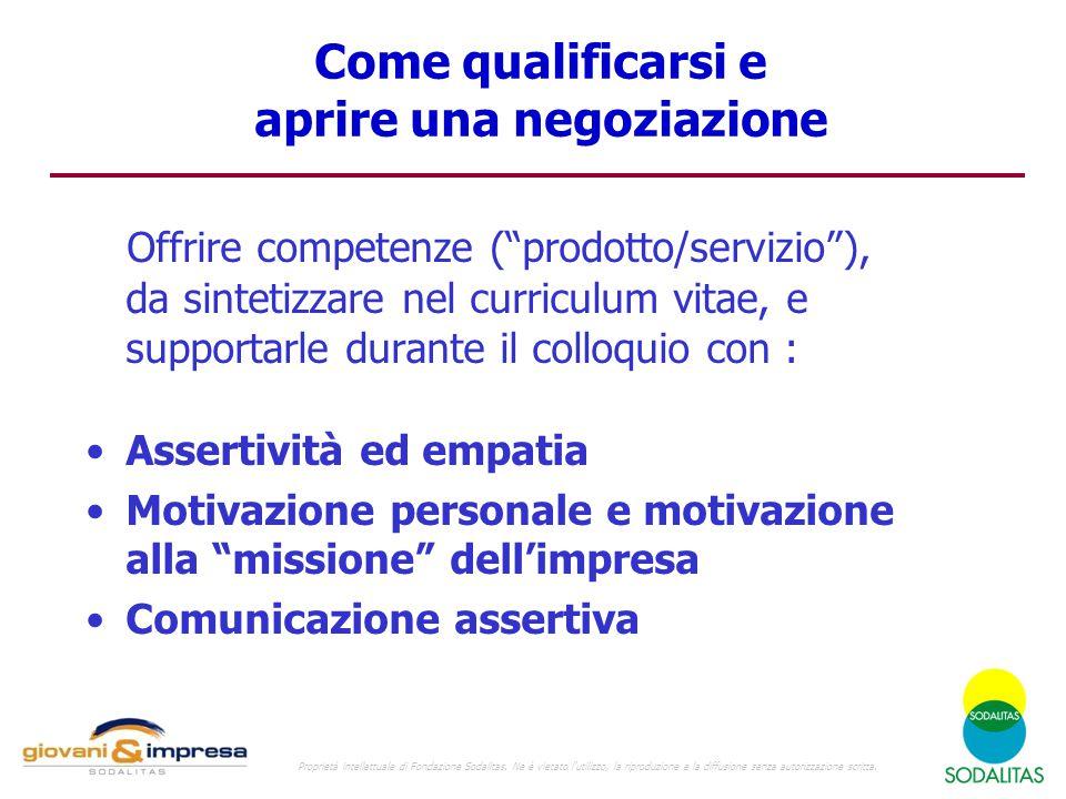 Come qualificarsi e aprire una negoziazione