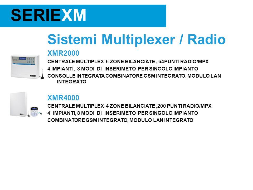 SERIEXM Sistemi Multiplexer / Radio XMR2000 XMR4000