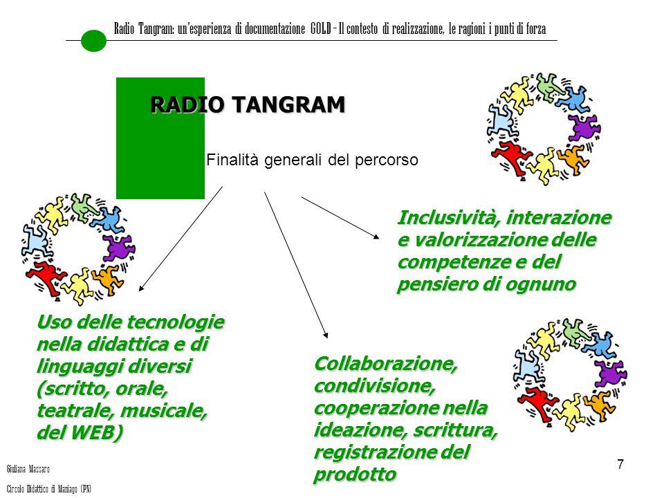 Radio Tangram: un'esperienza di documentazione GOLD – Il contesto di realizzazione, le ragioni i punti di forza