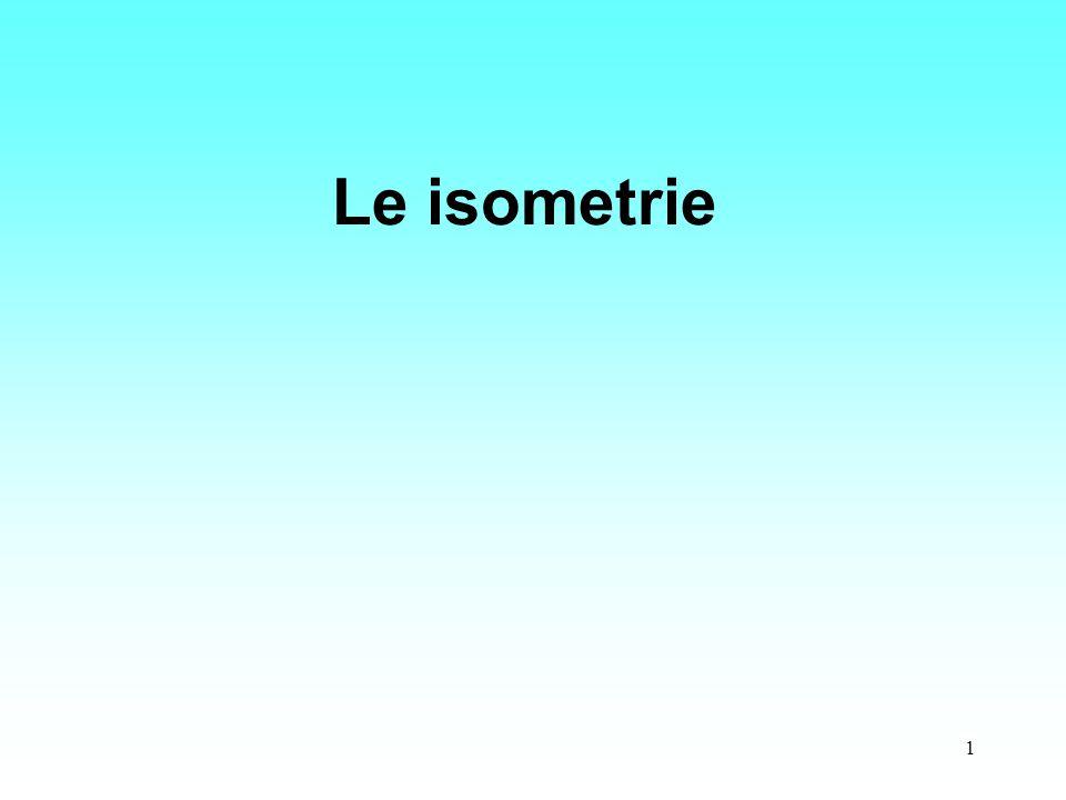 Le isometrie