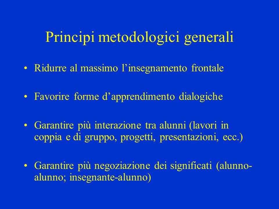 Principi metodologici generali