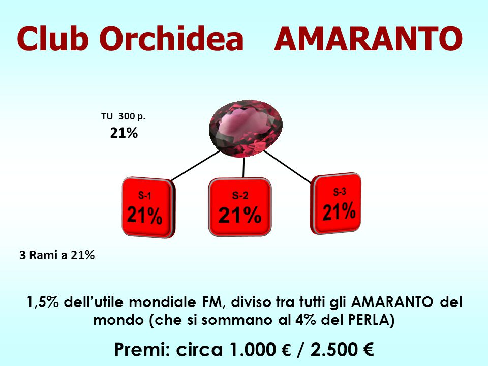 Club Orchidea AMARANTO