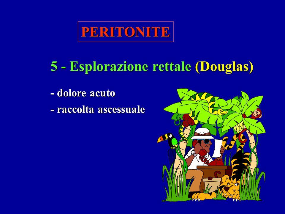 5 - Esplorazione rettale (Douglas)