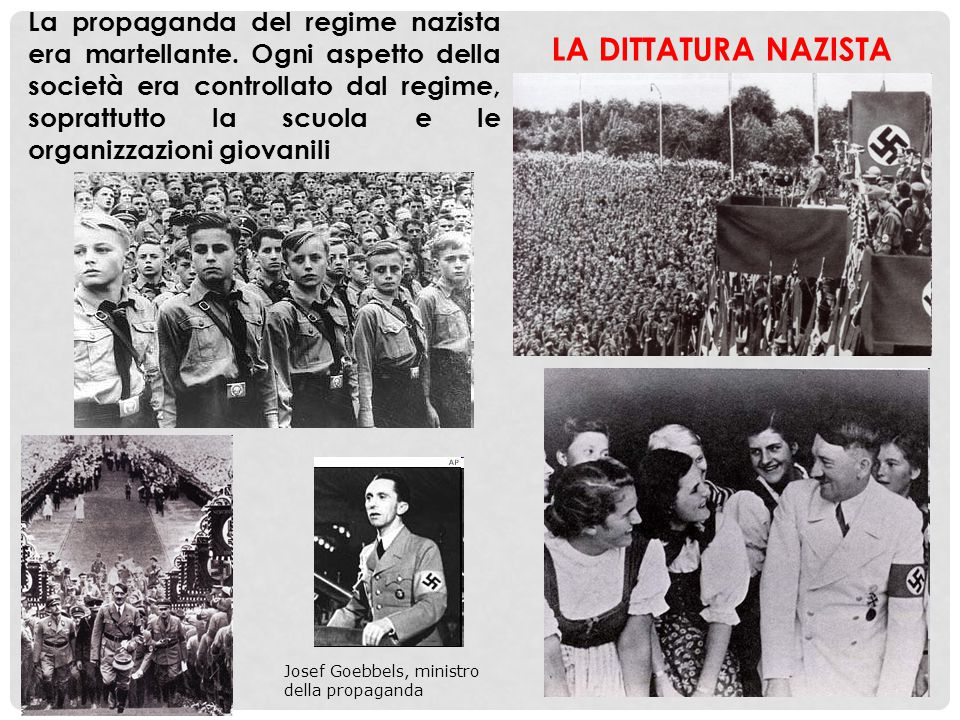 La propaganda del regime nazista era martellante