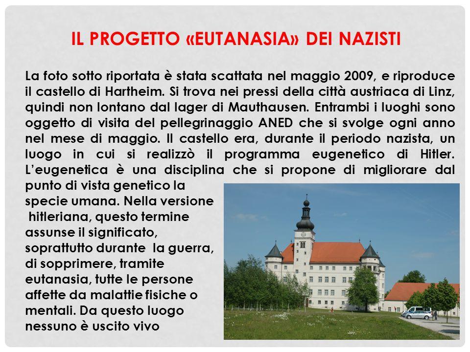 IL PROGETTO «EUTANASIA» DEI NAZISTI