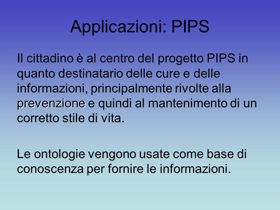 Applicazioni: PIPS