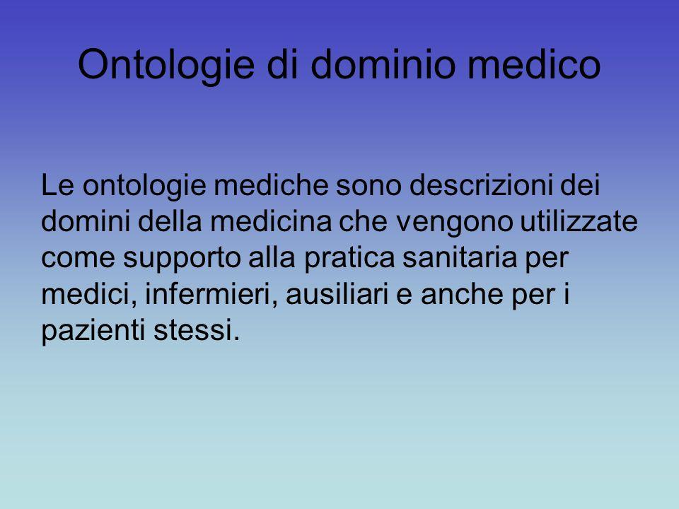 Ontologie di dominio medico