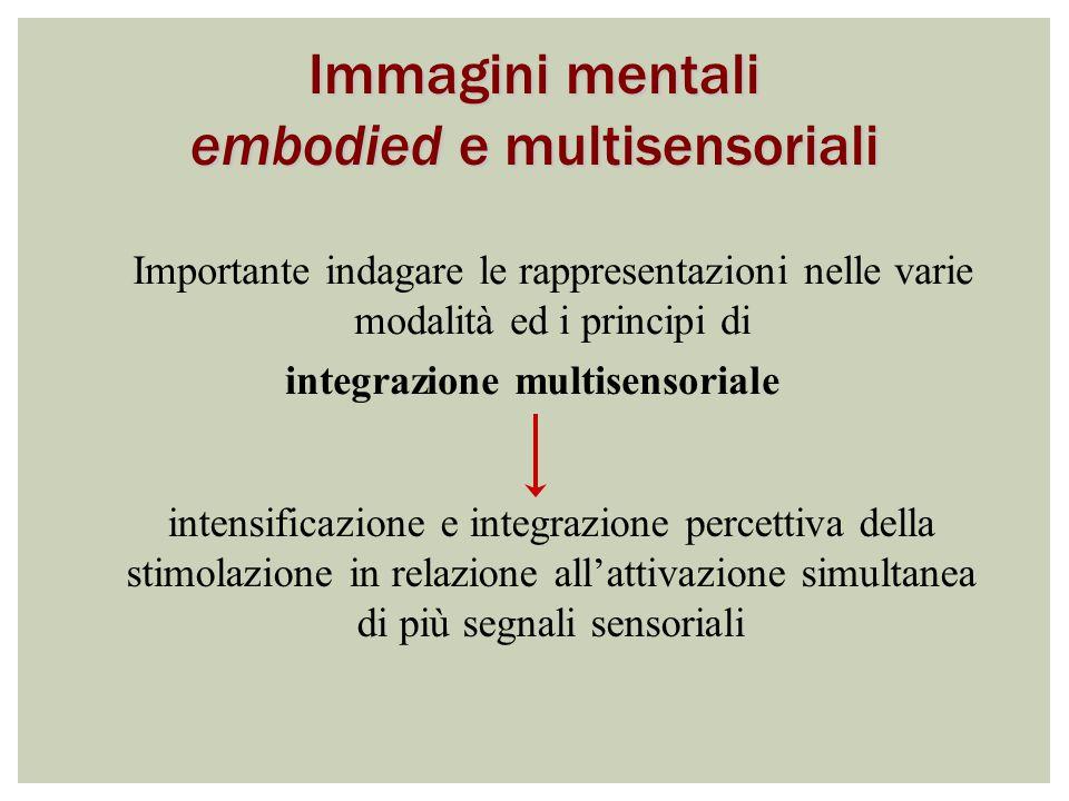 integrazione multisensoriale