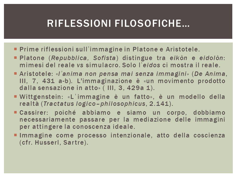 RIFLESSIONI FILOSOFICHE…