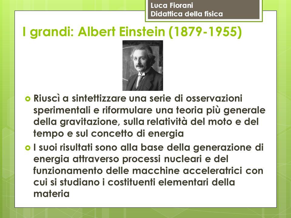I grandi: Albert Einstein (1879-1955)