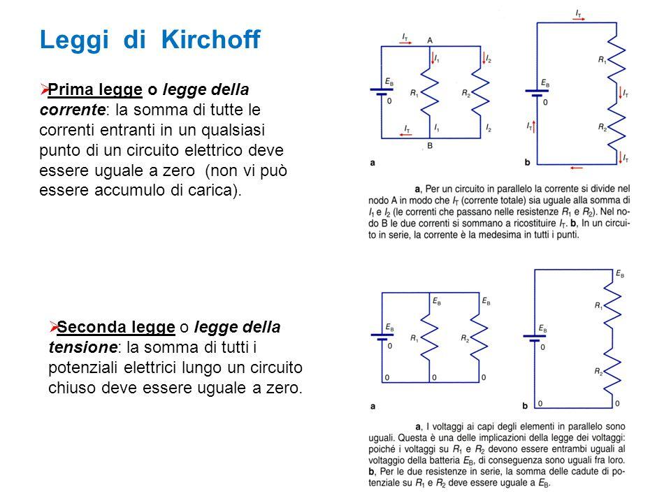 Leggi di Kirchoff