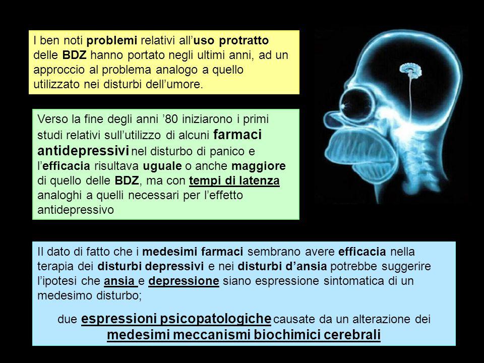 I ben noti problemi relativi all'uso protratto delle BDZ hanno portato negli ultimi anni, ad un approccio al problema analogo a quello utilizzato nei disturbi dell'umore.