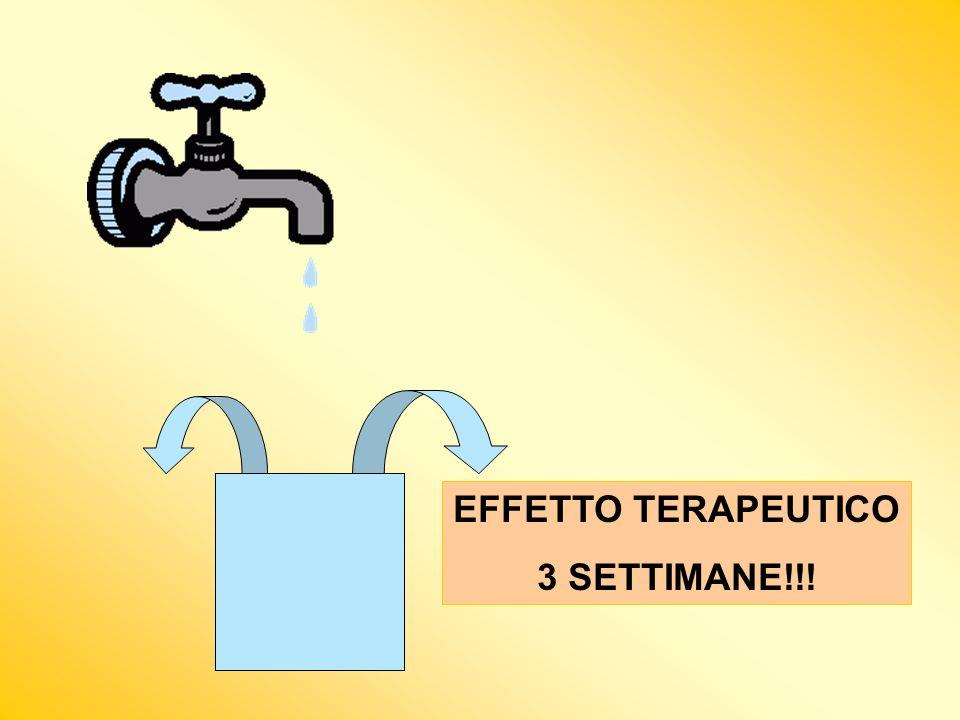 EFFETTO TERAPEUTICO 3 SETTIMANE!!!