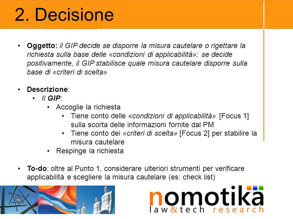 2. Decisione