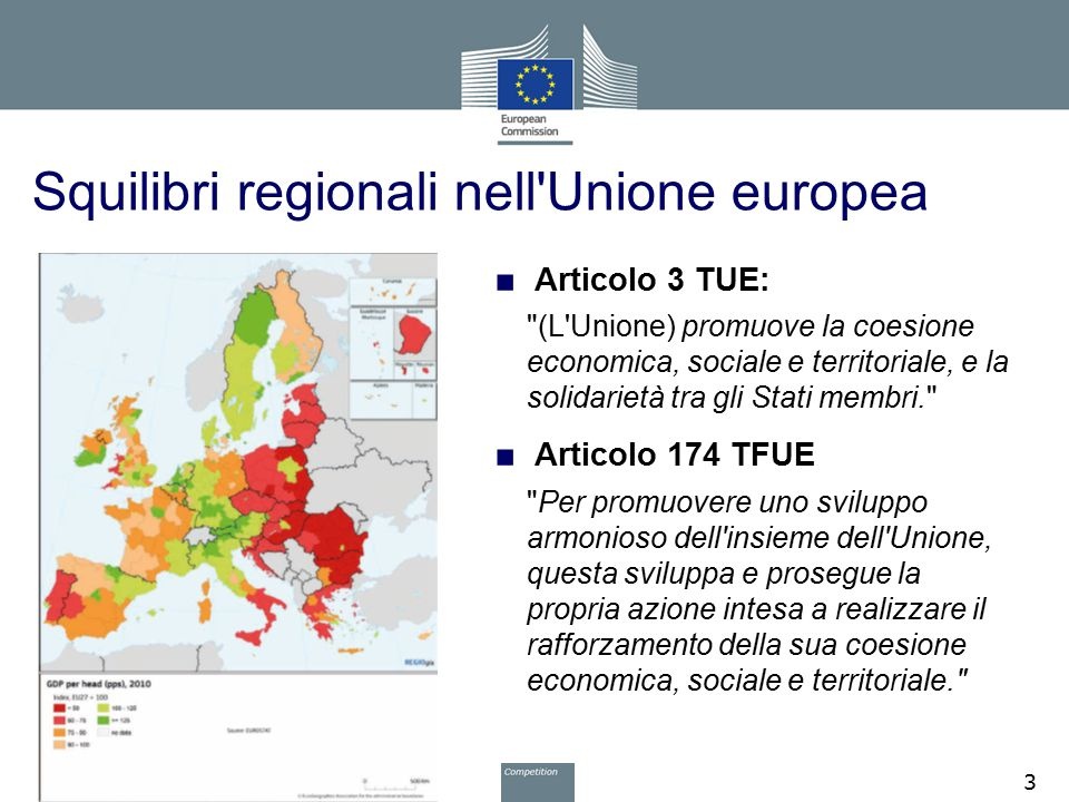 Squilibri regionali nell Unione europea