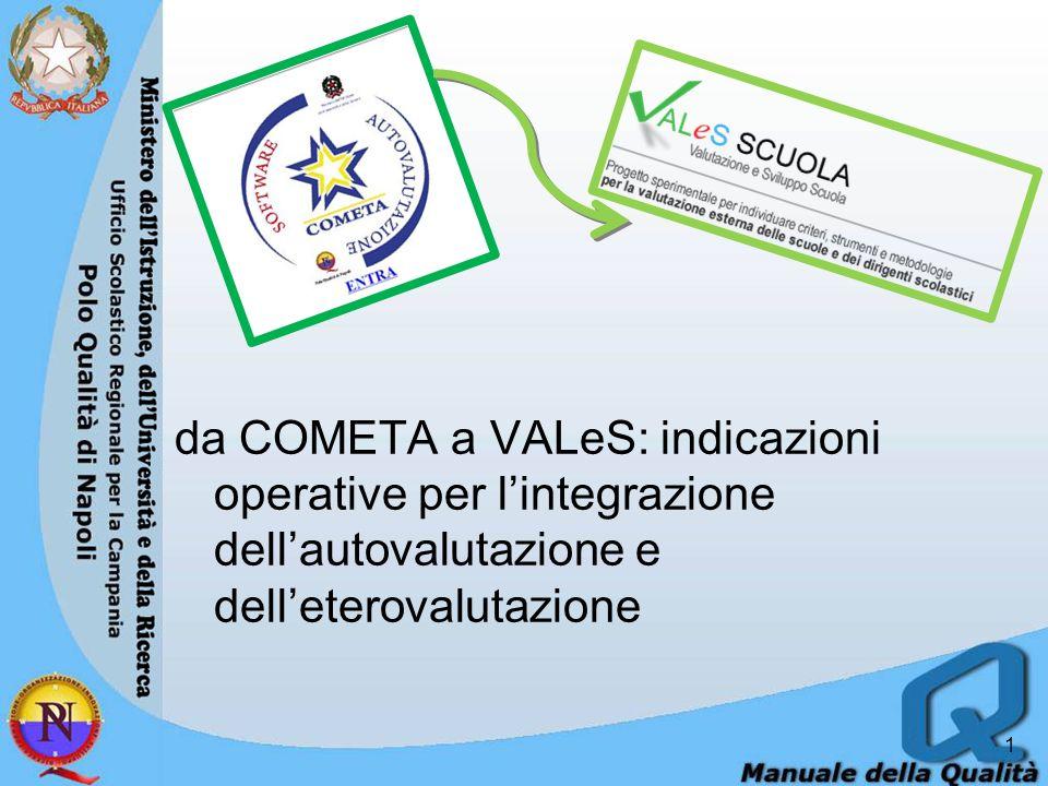 da COMETA a VALeS: indicazioni operative per l'integrazione dell'autovalutazione e dell'eterovalutazione