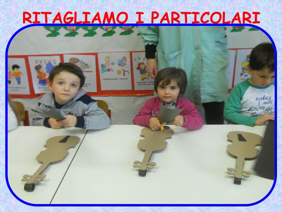 RITAGLIAMO I PARTICOLARI
