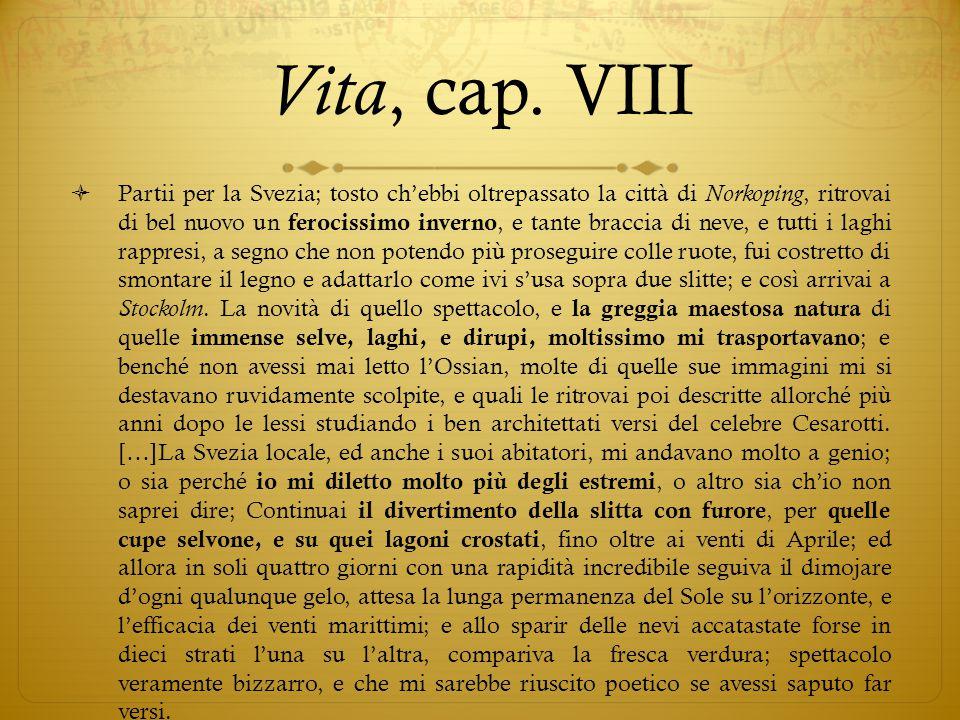 Vita, cap. VIII