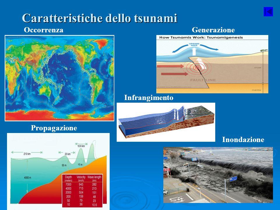 Caratteristiche dello tsunami
